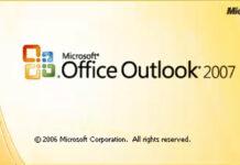 កម្មវិធី Microsoft Outlook 2007