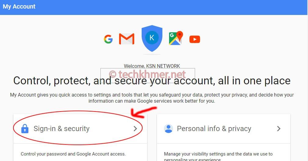 របៀបកំណត់សុវត្ថិភាព Two-factors authentication លើគណនី Gmail ជាមួយកម្មវិធី Authy 2FA នៅលើទូរស័ព្ទដៃ។
