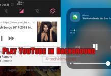 វិធីសាស្ត្រ Play YouTube Videos in Background on Android and iPhone។