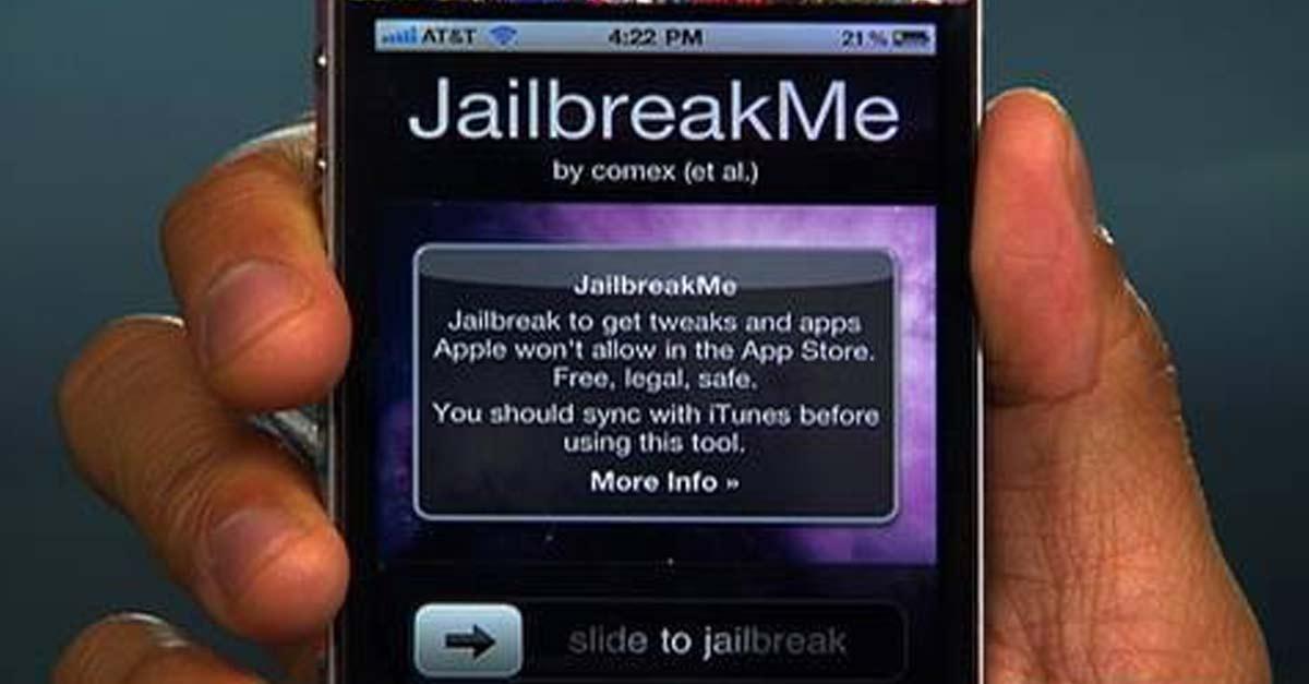 Jailbreak ទូរស័ព្ទ iPhone។