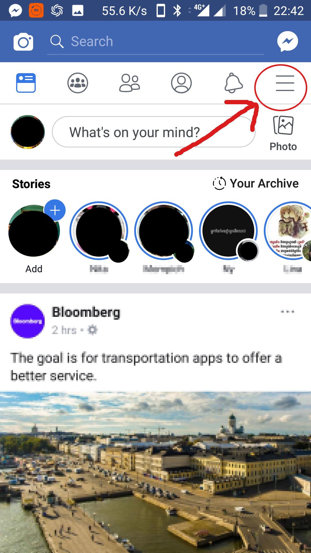របៀបឆែកមើលគណនីហ្វេសប៊ុក (Facebook Account) ថាតើមានគេលួចចូលមើលឬអត់តាមរយៈកម្មវិធីហ្វេសប៊ុកលើទូរស័ព្ទដៃ។